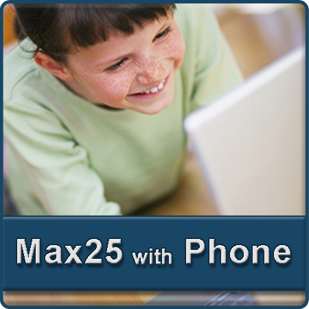 Residential Bundles Max25 DSL and VoIP Phone Services