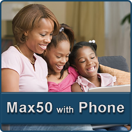 Residential Bundles Max50 DSL and VoIP Phone Services