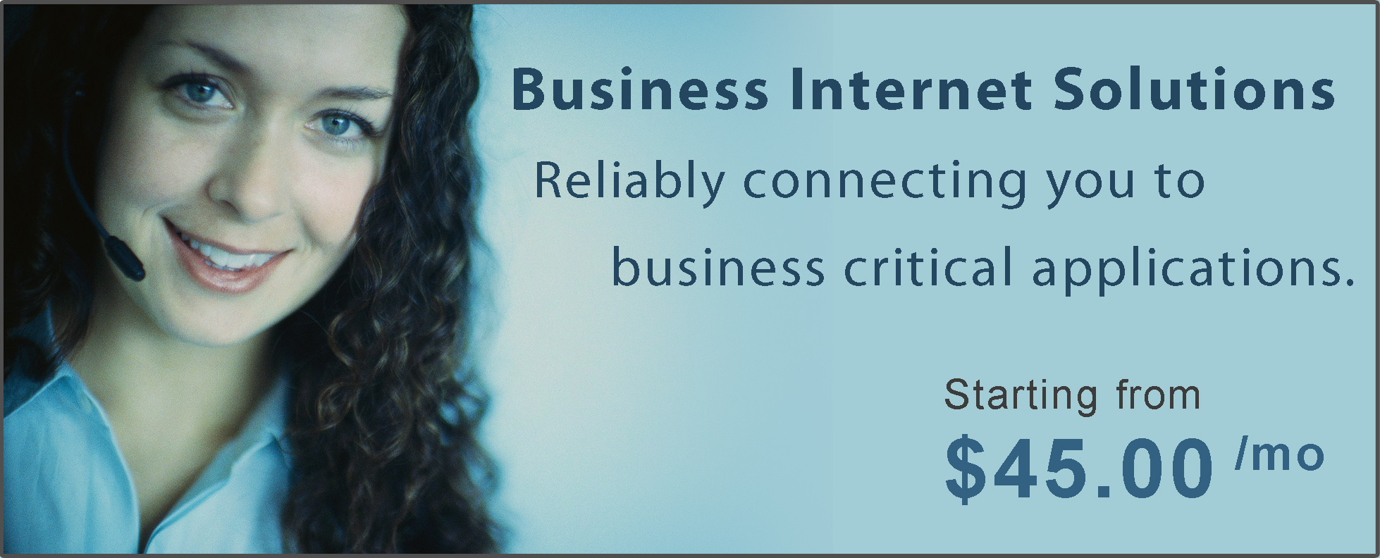 Business Internet Solutions Banner
