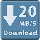 Business Bustable Wireless Internet 20mbps Download