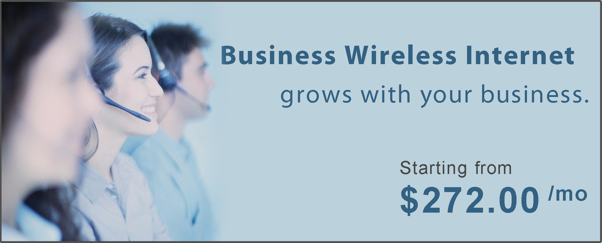 Business Wireless Internet Banner