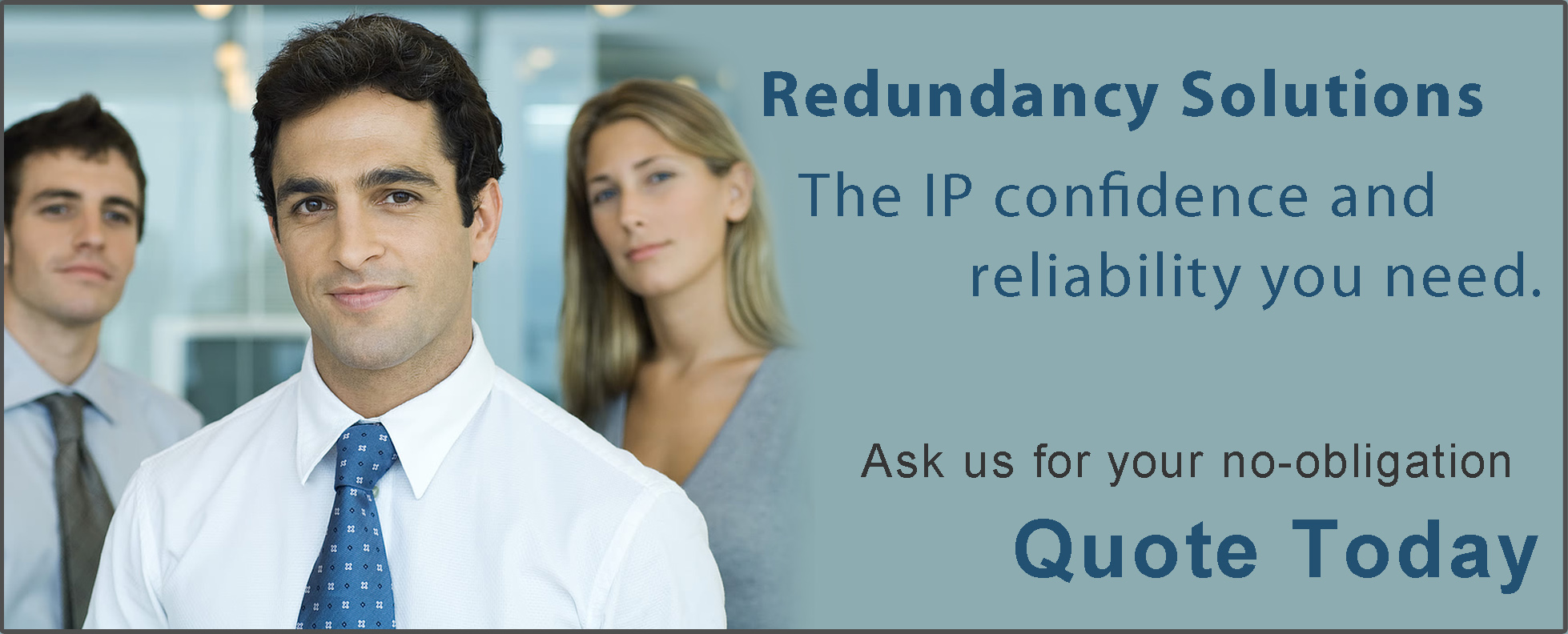 Business Internet Redundancy Solutions Banner